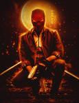 Jensen Ackles as Red Hood by GalleryGestapo