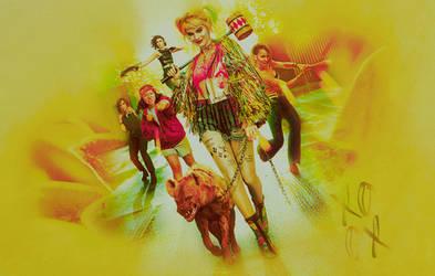 Margot Robbie as Harley Quinn by GalleryGestapo
