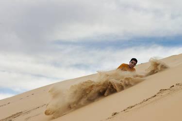 Sand Jump by amai911