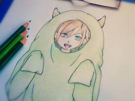 cute monster ! by LenaArt7