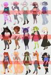 Monster Girls OTA [OPEN 9/15] by TheOfficialKiwii