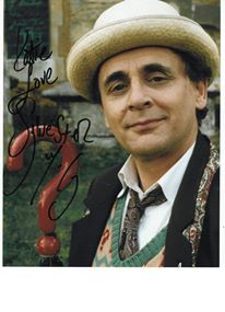 Sylvester McCoy Autograph by PokemonKorraDrWhofan on ...