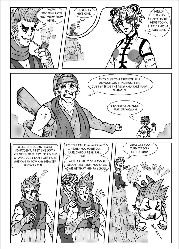 SDL: Johnny vs Kwan pg 2 by historiascretinas