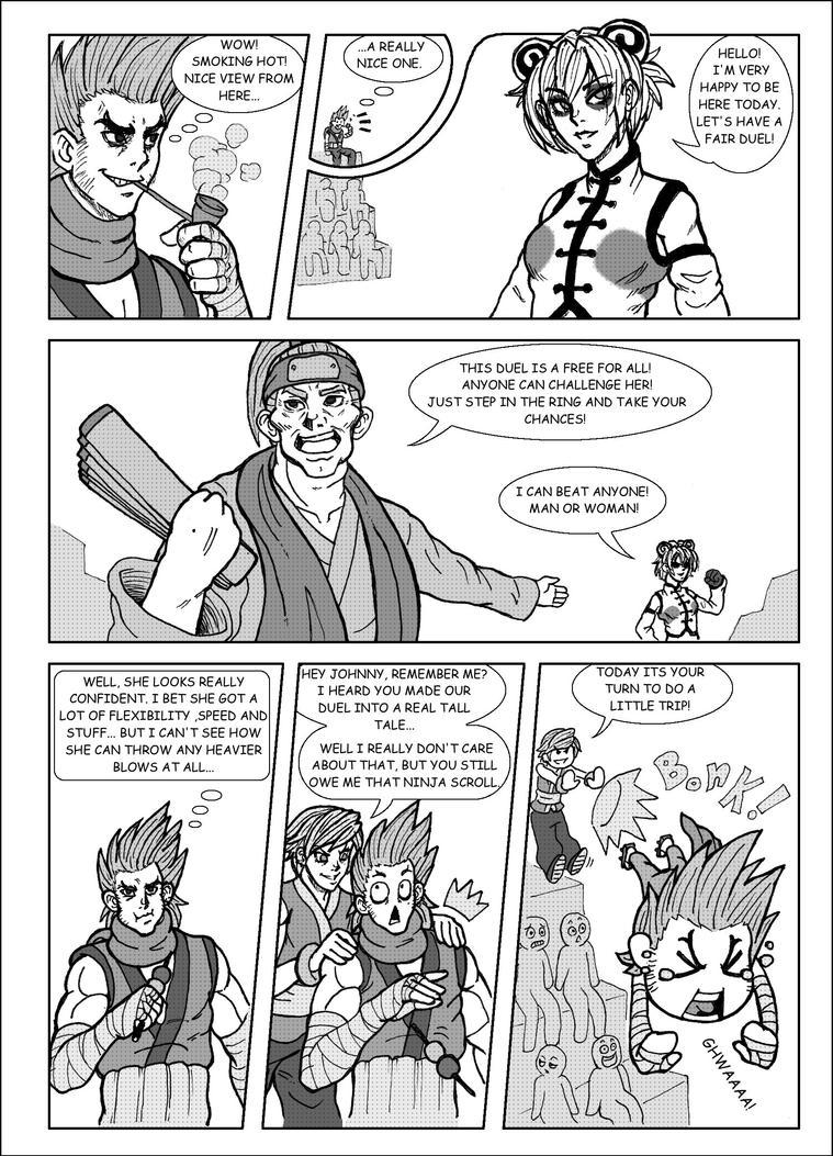 SDL: Johnny vs Kwan pg 2 by historiascretinas