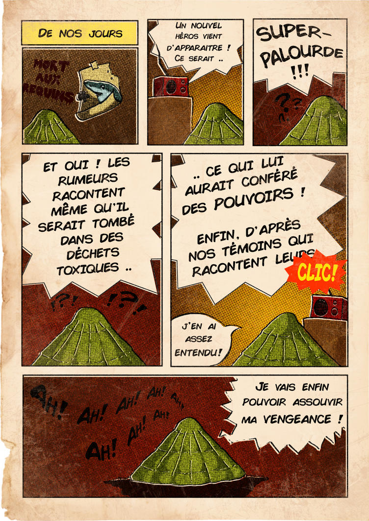 Super-Palourde#1 vs Bloody-Patella p2 by TAHR-Thomas-Radas