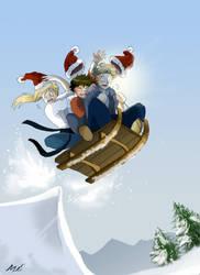 Feliz Navidad - Nagare by Enmascarada