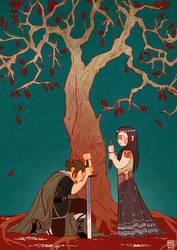 The red oak by Enmascarada