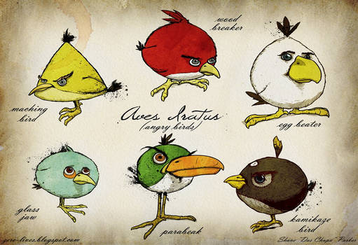 Angry Birds Species