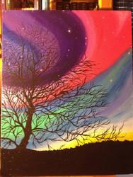 Aurora Nights by nightshadow123