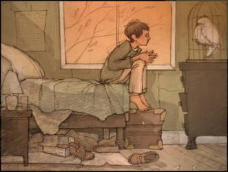 Leaving the Dursleys by gredandfeorge