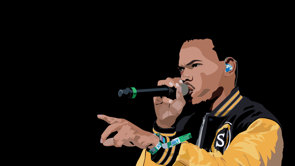 Chance the rapper wallpaper by dazztok on deviantart chance the rapper wallpaper by dazztok voltagebd Choice Image