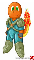 Ninjamander as Duran by KilkakonOfficial