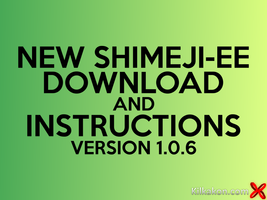 Shimeji-ee 1.0.6 Download And Instructions