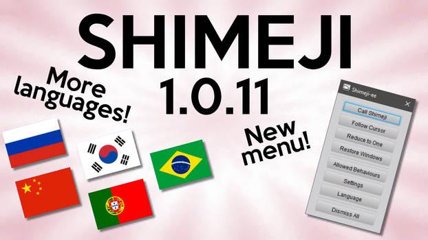 Shimeji 1.0.11 - Luxury Custom Menu!