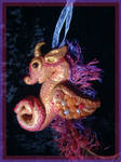 Polymer Clay Sea Dragon by WistmansWood