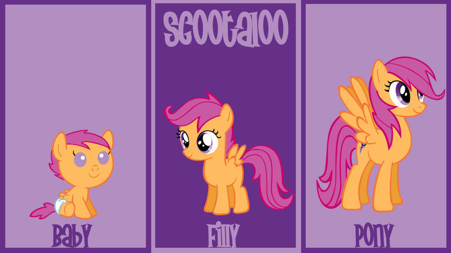 Scootaloo Wallpaper by lendaclue