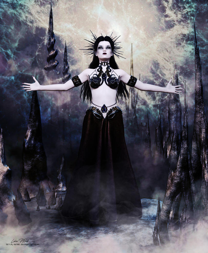 Queen of the Damned by Bella-Noire