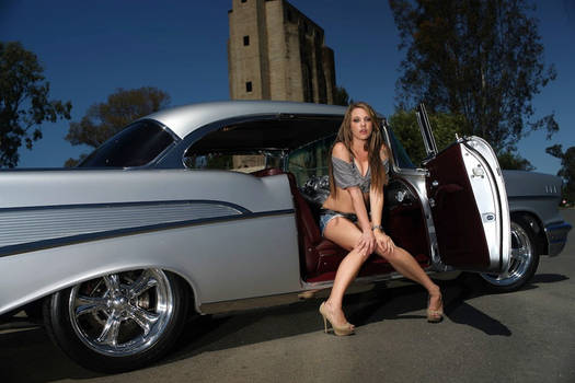 57' Chevy Pin-Up