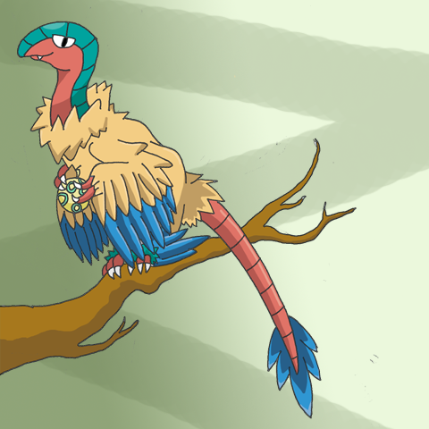 Archeops Entry by birdconure