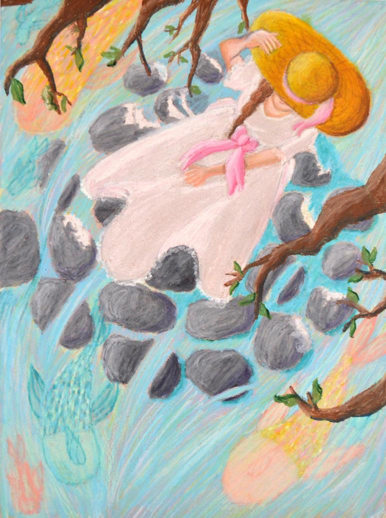 Pastel Drawing, AP by Nightstar1231