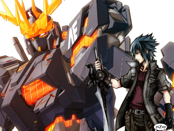 Noctis's Banshee Gundam by jackzack55 on DeviantArt  Gundam