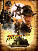 Indiana Jones Poster by RatGnaw