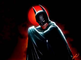 Batman: Animated Series 'Real' Logo by RatGnaw