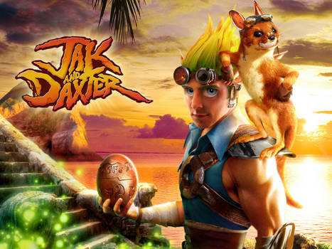 Jak and Daxter 'Real Life' Poster