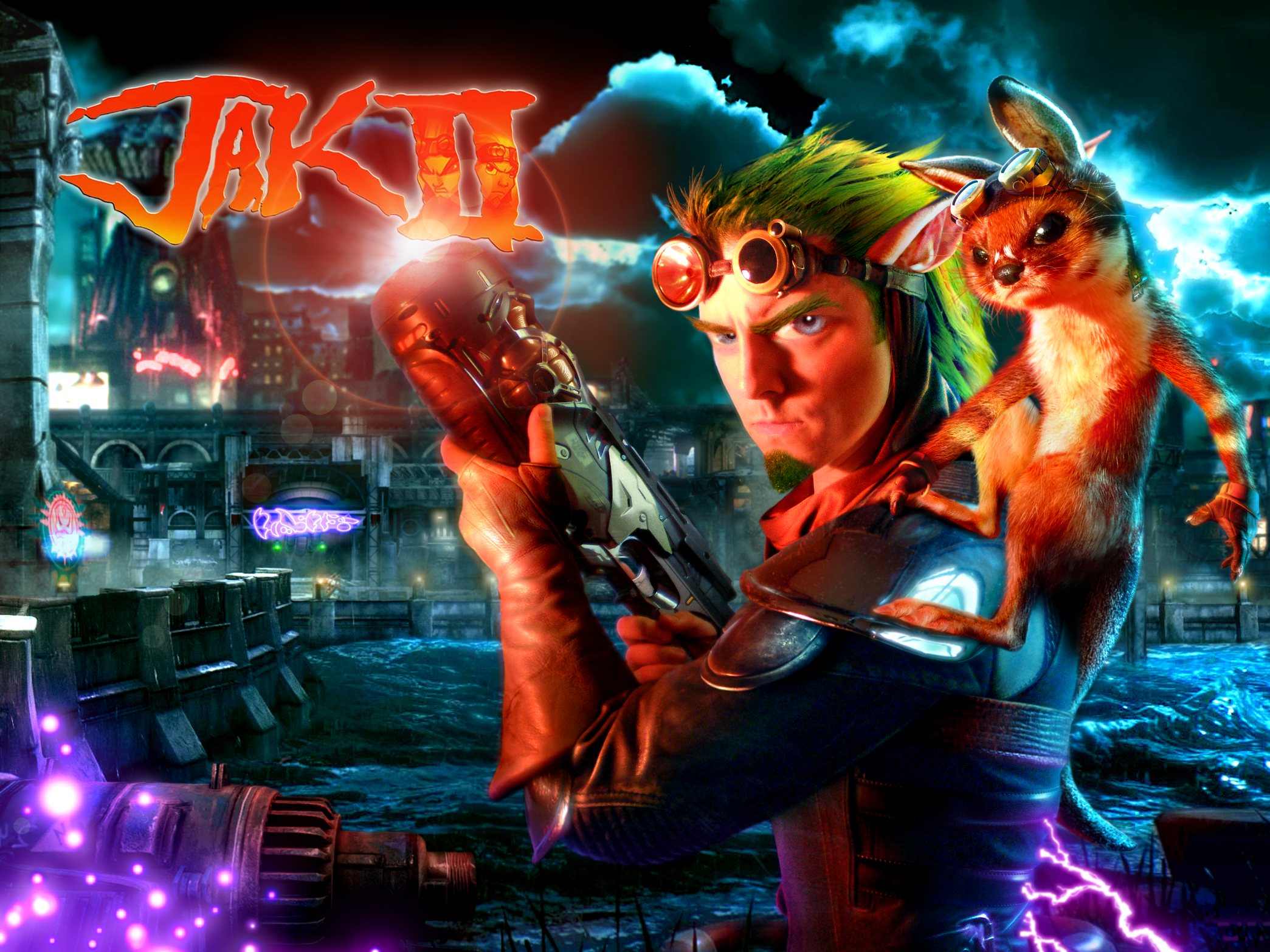 Jak 2 'Real Life' Poster by RatGnaw on DeviantArt
