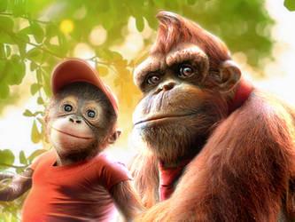 Donkey Kong 'Real Life' by RatGnaw