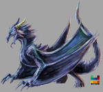 collab - Wyvern by potatotter