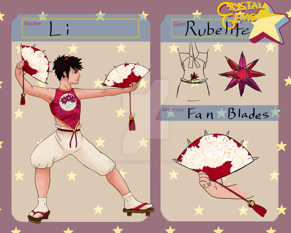 Rubelite - Crystal Gems app by LittleBlueOwls