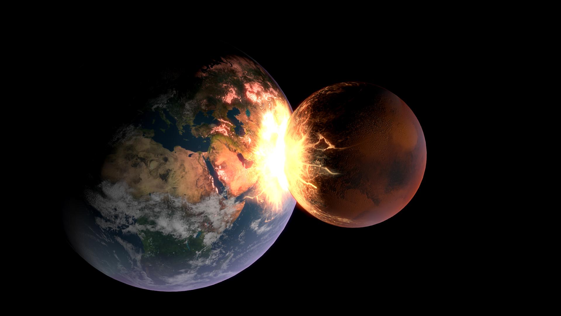 Earth vs. Mars by MestreEliam on DeviantArt