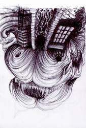monster mansion by Brainscattered