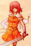Princess Lenna, Warrior of Light