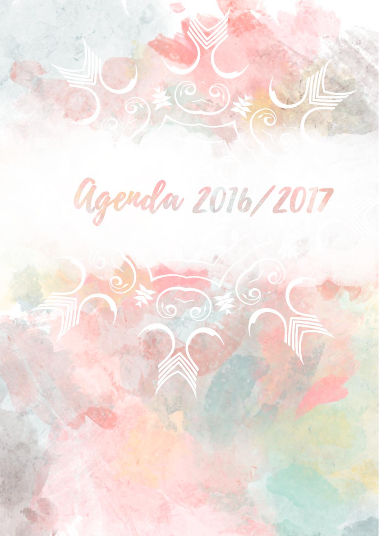 Agenda 2016/2017 by Anulowlin
