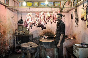 Butcher, Dharavi by elementality