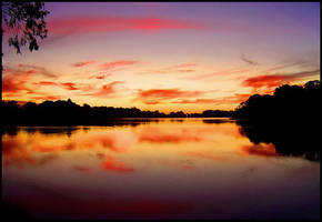 renmark sunset by elementality