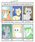6 cat webtoon fanart!