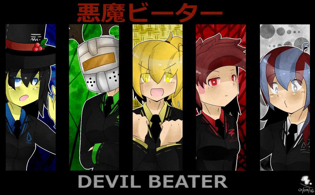 Roblox Devil Hair - Devil Beater Genderbenders By Pekochuu On Deviantart