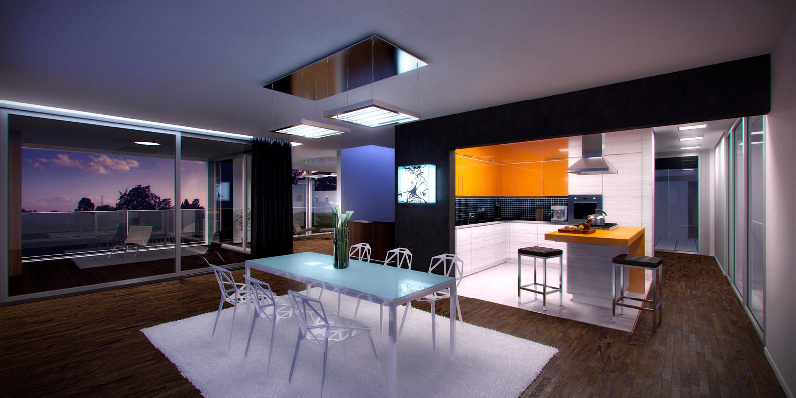 Kern house interior by rudeoz on deviantart for Best house interiors