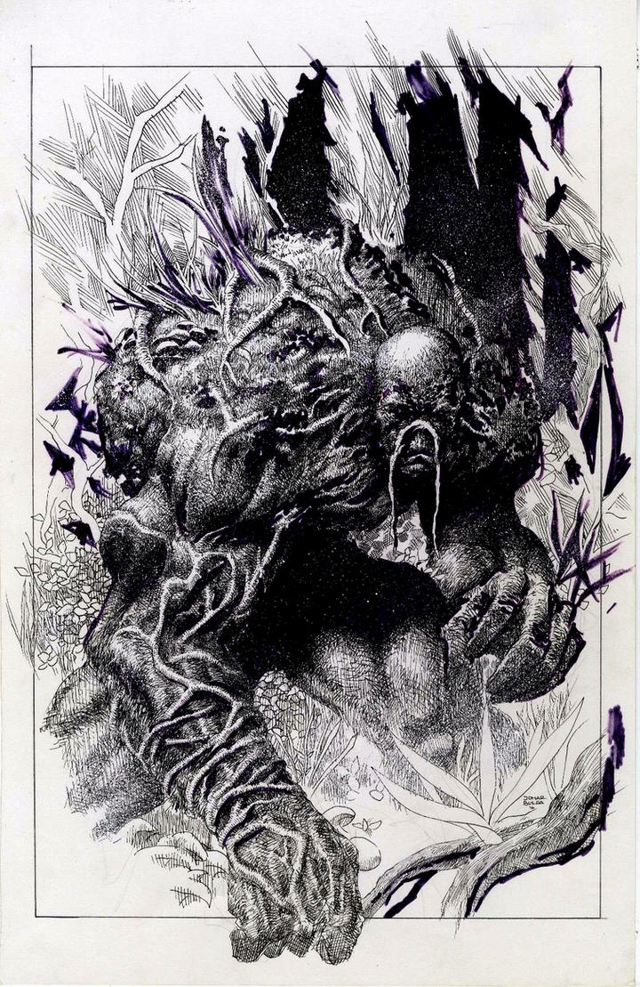 Swampthing by orphanshadow