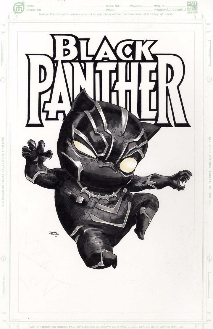 Black Panther by orphanshadow