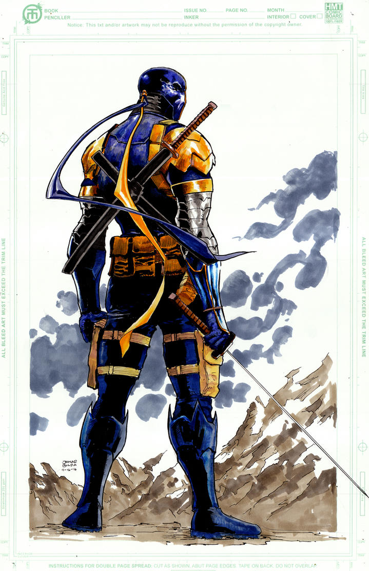 Deathstroke by orphanshadow