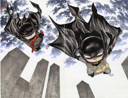 Batmen chibi