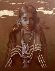 Apache Maiden by Leagas