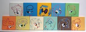 More Line Art Stencils!