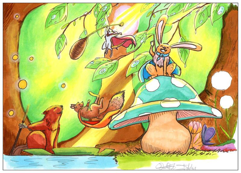 Brave rodents by Ildur