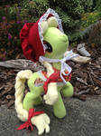 Young Granny Smith posable plush