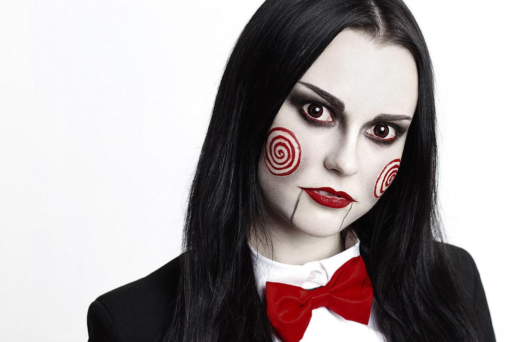 Billy The Puppet (female version) by jurisdictia on DeviantArt
